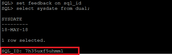 Oracle 18c new feature's in SQL*Plus utility | | Oracledbwr