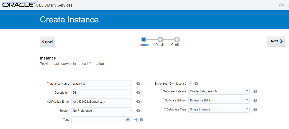 Upgrade Oracle 18c Cloud Database from 18 1 to 18 2     Oracledbwr