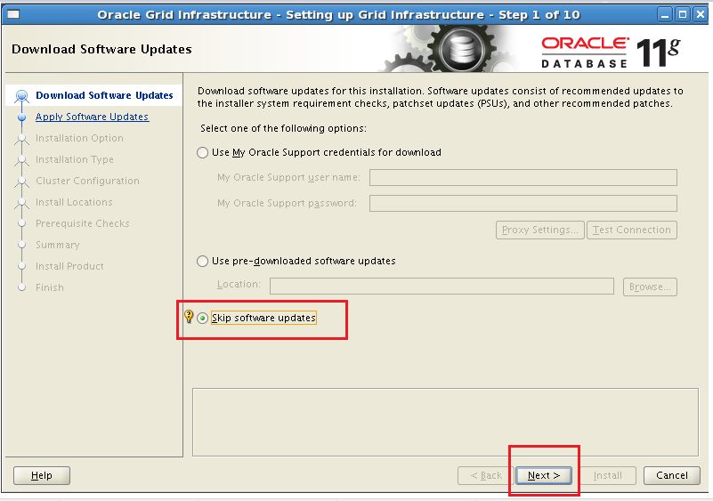 Step by Step configuration ASM for a Standalone Database