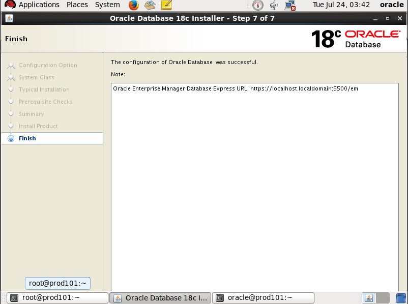 Step by Step Oracle 18c Installation On Linux     Oracledbwr
